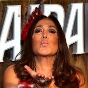 Susana Vieira manda aviso ao curtir carnaval em camarote: 'Eu vim para paquerar'