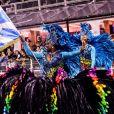Campeã do carnaval 2020 de São Paulo, Águia de Ouro fez citações a Albert Einstein e Santos Dumont no seu desfile