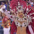 Lorena Improta, musa da Viradouro, vibra com título da escola no Carnaval do Rio de Janeiro. Veja vídeo compartilhado por ela nesta quarta-feira, dia 26 de janeiro de 2020