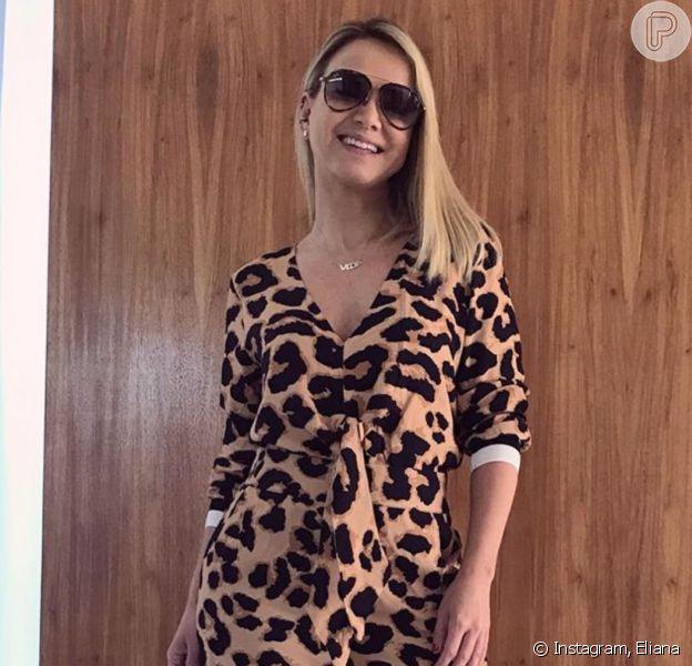 Eliana roubou a cena ao mostrar foto do look estiloso no Instagram