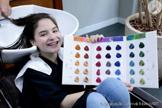 Sophia Valverde ficou ansiosa para renovar o visual para a nova fase de 'As Aventuras de Poliana'