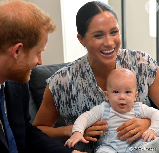Filho de Meghan Markle e Harry terá festa intimista de 1 ano. Aos detalhes!
