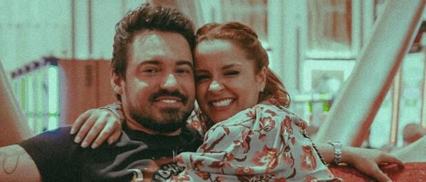 Maiara mostra Fernando Zor de ressaca após live de Jorge e Mateus: 'Quem nunca?'
