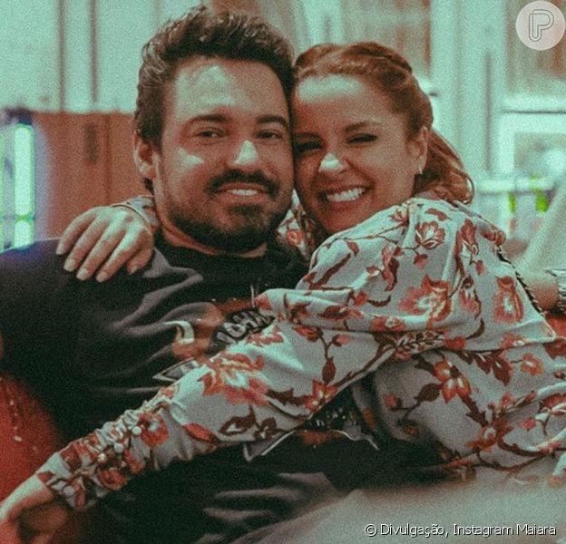 Maiara mostrou o namorado, Fernando Zor, de ressaca neste domingo, 5 de abril de 2020
