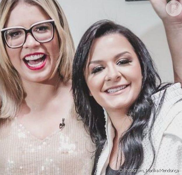 Marília Mendonça quebra recorde e manda recado para Maraisa em live nesta quarta-feira, dia 08 de abril de 2020
