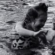 Débora Nascimento é mãe da pequena Bella, de um ano, fruto da relação com José Loreto
