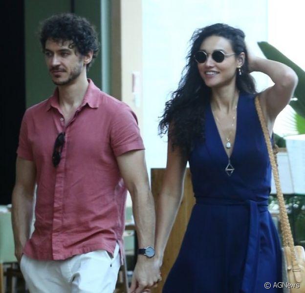 Débora Nascimento muda visual do namorado, Luiz Perez (foto abaixo)