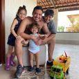Wesley Safadão é pai de Ysis, Yhudy e Dom