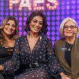 Juliana Paes comemorou à distância o aniversário da mãe, dona Regina