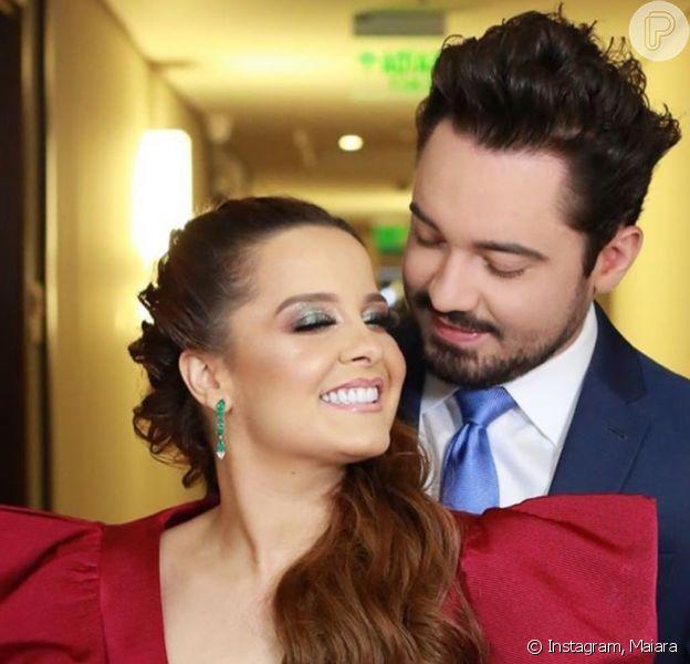 Maiara e Fernando Zor completam um ano de namoro nesta quarta-feira, 6 de maio de 2020