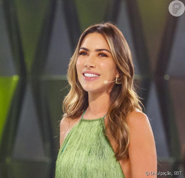 Filha de Patricia Abravanel, Jane fez a maquiagem na mãe e encantou a apresentadora: 'Não aguento'