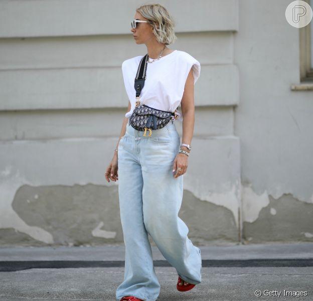 A calça jeans pode ser usada em casa de um jeito estiloso e confortável