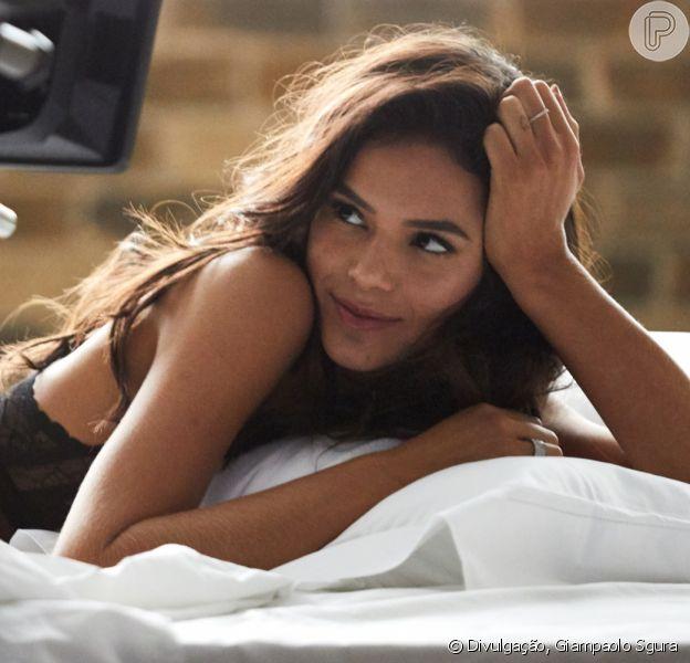 Bruna Marquezine reposta fotos de ensaio antigo de Dia dos Namorados