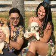 Graciele Lacerda afirma estar 'no meio de tratamento para engravidar' de Zezé Di Camargo, em 28 de junho de 2020