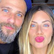 Giovanna Ewbank e Bruno Gagliasso postam 1ª foto do filho Zyan: 'Amorzinho'