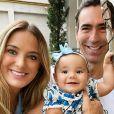 Filha de Ticiane Pinheiro e César Tralli, Manuella completou 1 ano de idade neste domingo, 12 de julho de 2020