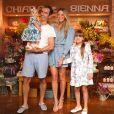 Ticiane Pinheiro e César Tralli são pais de Manuella e Rafaella Justus é fruto do antigo relacionamento da apresentadora com Roberto Justus