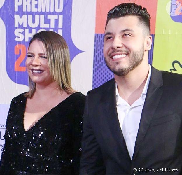 Marília Mendonça completa 25 anos e ganha homenagem do ex-namorado, Murilo Huff