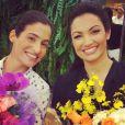 No Instagram, William Bonner postou uma foto de Patricia Poeta e Renata Vasconcelos: 'Sucesso'