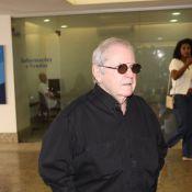 Jô Soares fala sobre a morte do filho, Rafael, em velório: 'Menino de 50 anos'