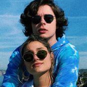 Sasha se diverte com namorado, João Figueiredo, ao usar filtro de rede social