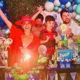 Filhos de Juliana Paes, Pedro e Antônio são frutos do casamento da atriz com o empresário Carlos Eduardo Baptista