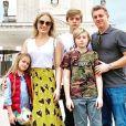 Angélica postou vídeo com os filhos, Joaquim, Benício e Eva, em homenagem a Luciano Huck no Dia dos Pais
