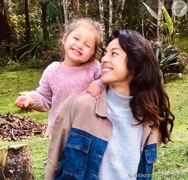 Vídeo de Madelena, filha de Yanna Lavigne encanta Agatha Moreira. Veja nesta quarta-feira, dia 12 de agosto de 2020