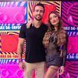 Gabriela Pugliesi e o marido, Eramos Viana, deixaram o Instagram após polêmica