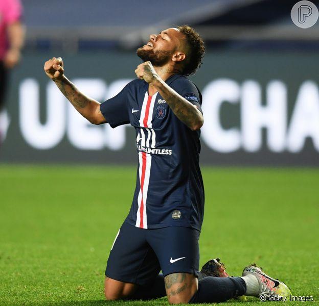 Neymar aponta superação após vitória inédita do PSG e anima famosos nesta terça-feira, dia 18 de agosto de 2020