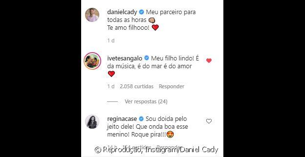 Ivete comenta em vídeo de Marcelo surfando