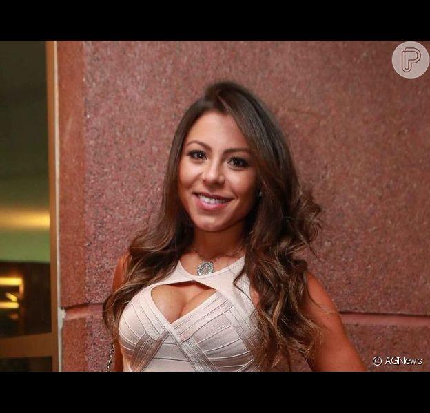 Mulher de Thammy Miranda, Andressa Miranda driblou imprevisto ao comemorar 8 meses do filho do casal, Bento