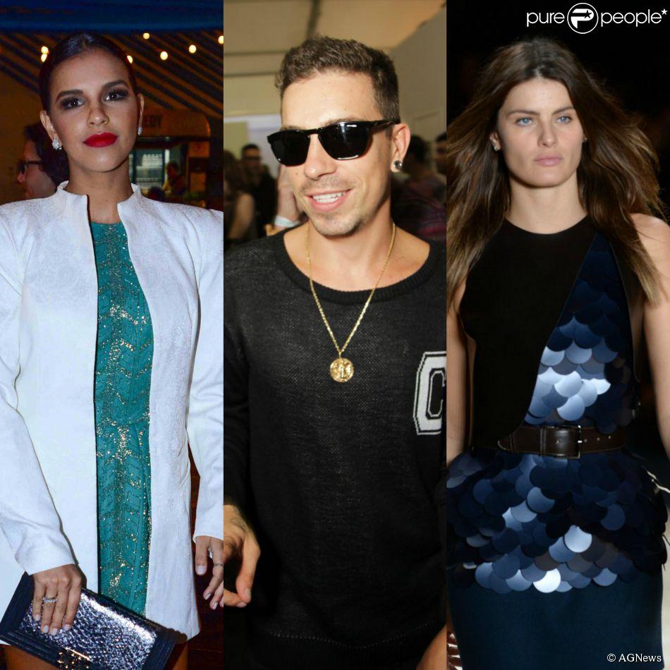 Mariana Rios, Di Ferrero e Isabelli Fontana vão ao SPFW, na noite desta segunda-feira, 3 de novembro de 2014