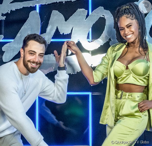 Felipe Titto é integrante da nova temporada do quadro 'Dança dos Famosos'