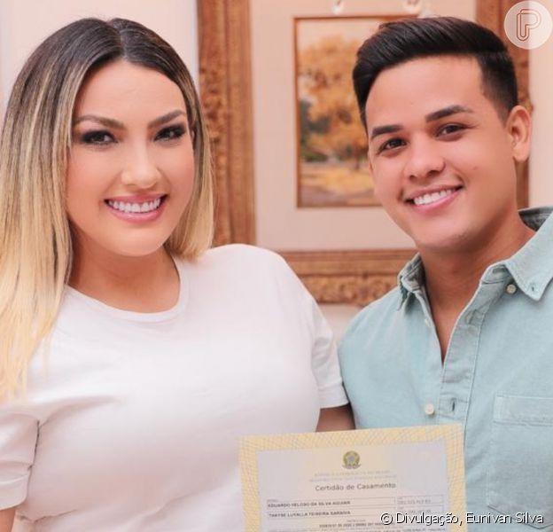 Thayse Teixeira rompe casamento com Eduardo Veloso após duas semanas