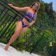 Zilu Godoi dona de um beachwear cheio de estilo