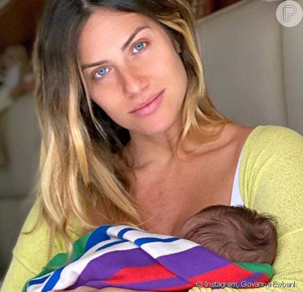 Giovanna Ewbank abre o jogo sobre rotina com filho Zyan, de 2 meses