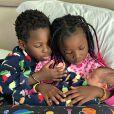 Giovanna Ewbank também é mãe de Títi, de 7 anos, e Bless, de 6