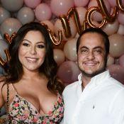 Andressa Miranda veste filho de Capitão América em festa de 9 meses após imprevisto