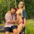 Veja 1ª foto de Zé Felipe e Virgínia Fonseca após notícia de gravidez