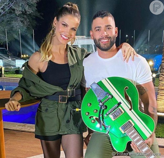 Gusttavo Lima e Andressa Suita se casaram com separação total de bens