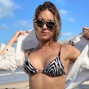 Thyane Dantas posta foto com biquíni trendy e surpreende web: 'Chocado com o corpo'