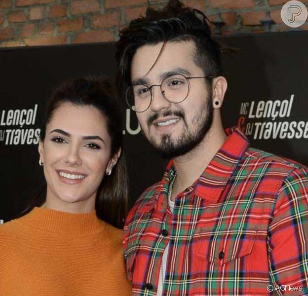 Jade Magalhães confirma fim do noivado de Luan Santana