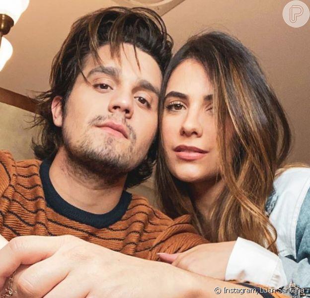 Luan Santana posta foto com Jade Magalhães após fim de noivado. Veja post feito nesta segunda-feira, dia 19 de outubro de 2020