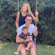 Marido de Ticiane Pinheiro, Cesar Tralli é pai de Manuella, filha mais nova da apresentadora