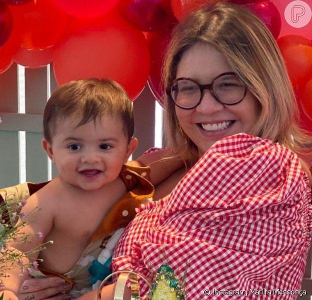 Marília Mendonça escolhe presente diferente para marcar os 11 meses do filho
