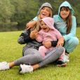 Ticiane Pinheiro é mãe de Rafaella Justus, de 11 anos, e Manuella, de 1