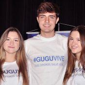 Filhas gêmeas de Gugu iniciam cultos dos jovens em igreja dos EUA. Entenda!