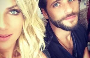 Giovanna Ewbank mostra cabelos mais curtos em foto com Bruno Gagliasso