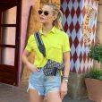 Short e camiseta fazem parte do estilo de Andressa Suita para o verão!